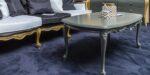 coffee table baroque tehnique patina