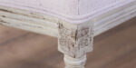 baroque dining chair detail patina