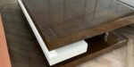 3 level coffee table in beech MDF