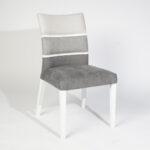 trpezariska stolica so siva gradacija