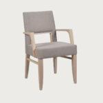 trepzariska stolica so rakonaslon vo drvo buka i tirkiz stof