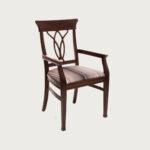 trpezariska stolica so rakonaslon buka drvo
