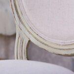 trpezariska stolica baroken stil detal